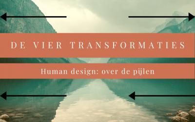 Over de 4 pijl van Human Design